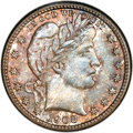 Barber Quarters, 1908-S 25C MS67 NGC....