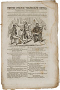 Political:Small Paper (pre-1896), Andrew Jackson: 1832 Magazine with Cover Cartoon....