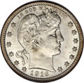 Barber Quarters, 1916 25C MS67 NGC....