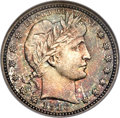 Barber Quarters, 1916-D 25C MS66 NGC. CAC....
