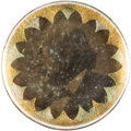 Political:Ferrotypes / Photo Badges (pre-1896), Benjamin F. Butler: 1884 Ferrotype Bridle Rosette....