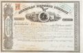 Transportation:Railroad, Henry Wells and William G. Fargo: Signed Stock Certificate. ...