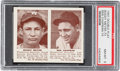 Baseball Cards:Singles (1940-1949), 1941 R330 Double Play Meyer/Chapman #73/74 PSA NM-MT 8. ...