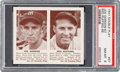 Baseball Cards:Singles (1940-1949), 1941 R330 Double Play Gordon/Ruffing #67/68 PSA NM-MT 8. ...