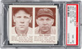 Baseball Cards:Singles (1940-1949), 1941 R330 Double Play Rolfe/Dickey #65/66 PSA NM-MT 8....