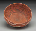 American Indian Art:Pottery, A St. John's Polychrome Bowl . c. 1175 - 1300 AD...