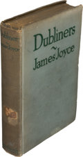 Books:Literature 1900-up, James Joyce. Dubliners. New York: B. W. Huebsch, 1916. FirstAmerican edition printed with English sheets, one of 50...