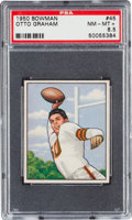 Football Cards:Singles (1950-1959), 1950 Bowman Otto Graham #45 PSA NM-MT+ 8.5....