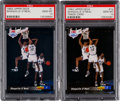 Basketball Cards:Lots, 1992-93 Upper Deck Shaquille O'Neal #1 & 1b PSA Gem MT 10 pair(2). ...