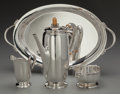 Silver Holloware, American:Coffee Pots, A Four Piece International Silver Co. Northern LightsPattern Silver Coffee Service, Meriden, Connecticut, Mid 2...(Total: 4 Items)