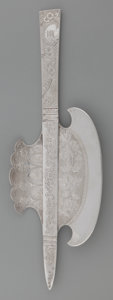 Silver Flatware, American:Other , An American Silver Ice Cream Hatchet, attributed to Gorham, circa1885. Marks: STERLING. 12 inches long (30.5 cm). 6.84 ...