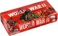 "Non-Sport Cards:Singles (Pre-1950), 1965 Philadelphia ""World War II"" or ""War Bulletin"" Unopened Wax Box(24 Packs). ..."