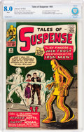 Silver Age (1956-1969):Superhero, Tales of Suspense #45 (Marvel, 1963) CBCS VF 8.0 White pages....