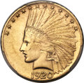 Indian Eagles, 1920-S $10 MS61 PCGS....
