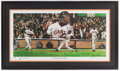 Baseball Collectibles:Others, Barry Bonds Signed Lithograph....