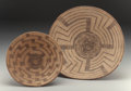 American Indian Art:Baskets, Two Pima Coiled Bowls. c. 1930... (Total: 2 Items)