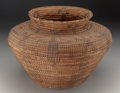 American Indian Art:Baskets, A Pima Coiled Storage Jar ...
