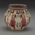 American Indian Art:Baskets, A Panamanian Pictorial Coiled Jar ...