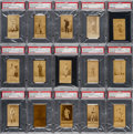Baseball Cards:Lots, 1887 N172 Old Judge PSA Graded Collection (15). ...