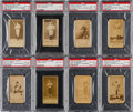 Baseball Cards:Lots, 1887 N172 Old Judge PSA Graded Collection (13). ...
