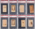Baseball Cards:Lots, 1887 N172 Old Judge PSA Graded Collection (8). ...