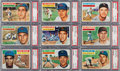 Baseball Cards:Sets, 1956 Topps Baseball Collection PSA NM-MT 8 (75). ...