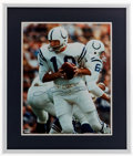 Football Collectibles:Uniforms, Johnny Unitas Signed Oversized Photograph....