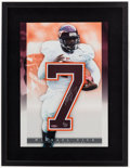 Football Collectibles:Photos, Michael Vick Signed UDA Display....