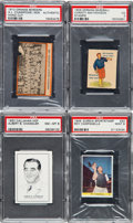 Baseball Cards:Lots, 1909 - 1980's Baseball Hall of Famers Collection (12) - WithMathewson and Orange Border Tigers. ...