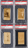 Baseball Cards:Lots, 1887 N172 Old Judge Baseball PSA Graded Collection (4). ...