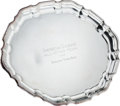 Baseball Collectibles:Others, 1963 All-Star Game Presentational Silver Tray from The BrooksRobinson Collection....