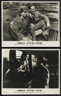 """Movie Posters:Romance, Brief Encounter (Eagle Lion, 1946). British Front of House LobbyCards (2) (11"""" X 14""""). Romance. ... (Total: 2 Items)"""