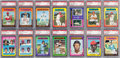 Baseball Cards:Sets, 1975 Topps Baseball PSA Graded Near Set (595/660) Plus 28 Extras. ...