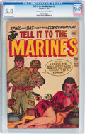 Golden Age (1938-1955):War, Tell it to the Marines #2 (Toby Publishing, 1952) CGC VG/FN 5.0 Cream to off-white pages....