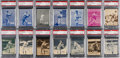 Baseball Cards:Lots, 1934-36 R318 Batter-Up PSA NM-MT 8 Collection (21 Different). ...