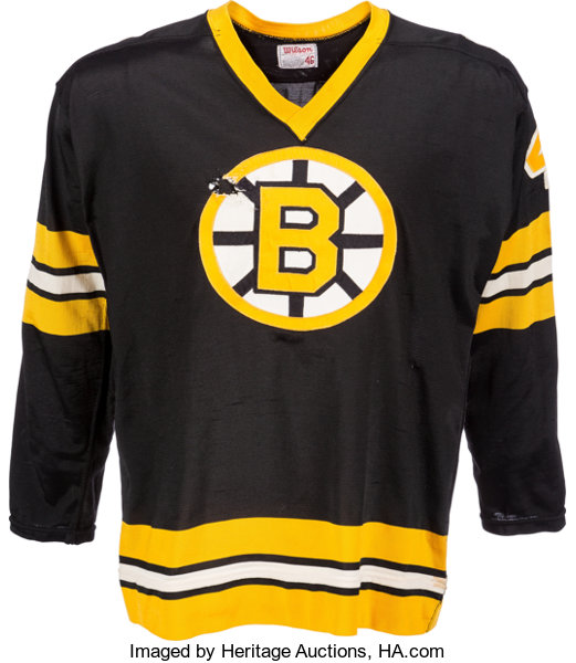 1975 Bobby Orr Final Game Worn Jersey as a Member of the  d09e94f69