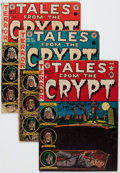 Golden Age (1938-1955):Horror, Tales From the Crypt Group of 10 (EC, 1952-55) Condition: AverageFR/GD.... (Total: 10 Comic Books)