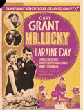 "Movie Posters:Romance, Mr. Lucky (RKO, 1943). Silk Screen Poster (30"" X 40"").. ..."
