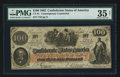 Confederate Notes:1862 Issues, CT41/316 $100 1862 Counterfeit.. ...