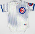 Baseball Collectibles:Uniforms, Jerome Walton Signed Chicago Cubs Jersey....