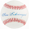 Autographs:Baseballs, Charlie Gehringer Single Signed Baseball....