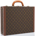"Luxury Accessories:Bags, Louis Vuitton Classic Monogram Canvas President Briefcase Bag.Good to Very Good Condition. 17"" Width x 13"" Height x4..."