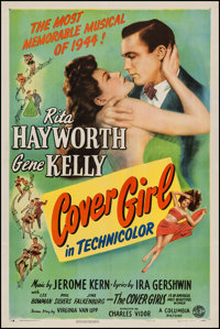 "Cover Girl (Columbia, 1944). One Sheet (27"" X 41"") Style B. Musical"