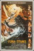 "Movie Posters:Fantasy, Clash of the Titans & Other Lot (CIC, 1981). ArgentineanPosters (2) (29"" X 42.25"" & 29"" X 43.25""). Fantasy.. ..."