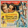 "Movie Posters:Musical, Tonight and Every Night (Columbia, 1945). Six Sheet (80"" X 80""). Musical.. ..."