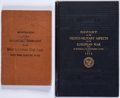 Books:Americana & American History, [Medicine in World War I]. Two World War I Titles Related toDisease or Wounds by Official Sources.... (Total: 2 Items)