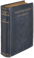 Books:Literature 1900-up, D.H. Lawrence. Sons and Lovers. London: Duckworth & Co.,1913....