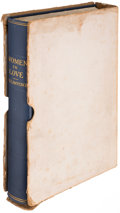 Books:Literature 1900-up, D.H. Lawrence. Women in Love. New York: Privately Printedfor Subscribers Only, 1920....