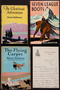 Books:Travels & Voyages, Richard Halliburton. The Glorious Adventure; The Flying Carpet;Seven League Boots. Garden City & Indianapolis, [192...(Total: 3 Items)