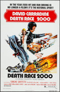 "Movie Posters:Science Fiction, Death Race 2000 (New World, 1975). One Sheet (27"" X 41"") &Photos (6) (8"" X 10""). Science Fiction.. ... (Total: 7 Items)"